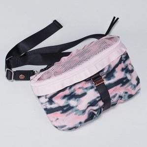 RARE Lululemon Go Lightly Bag Wamo Camo Rose Gold